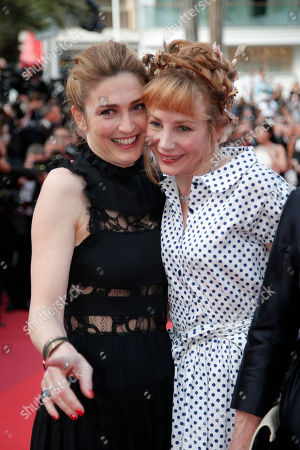 Julie Gaye, Julie Depardieu Actresses Julie Gayet, left, and Julie Depardieu pose for photographers upon arrival at the screening of the film La Fille Inconnue (The Unkown Girl) at the 69th international film festival, Cannes, southern France