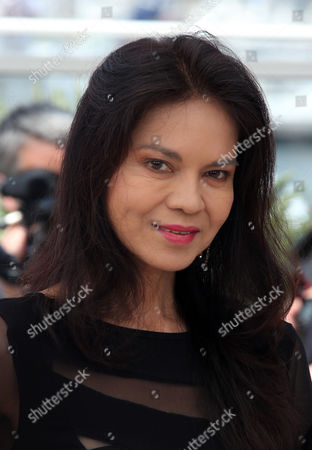 Actress Maria Isabel Lopez poses for photographers during a photo call for the film Ma' Rosa at the 69th international film festival, Cannes, southern France