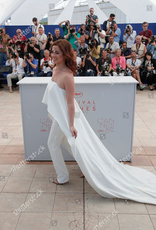 Actress Andi Eigenmann poses for photographers during a photo call for the film Ma' Rosa at the 69th international film festival, Cannes, southern France