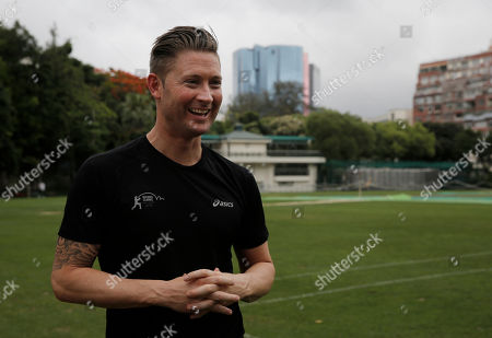 Michael Clarke Former Australia cricket captain Michael Clarke speaks during a media meeting at the Kowloon Cricket Club in Hong Kong, . Cricket Australia says former Australia captain Michael Clarke has signed with Kowloon Cantons for a two-day Hong Kong Twenty20 tournament beginning May 28. Since retiring after Australia lost the Ashes in England last August, the 115-test veteran has played only one competitive match for local club side Western Sydney