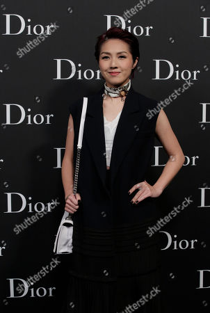 Miriam Yeung Hong Kong actress-singer Miriam Yeung poses for photographers as she attends the Dior Homme 2016-2017 Winter collection fashion show in Hong Kong