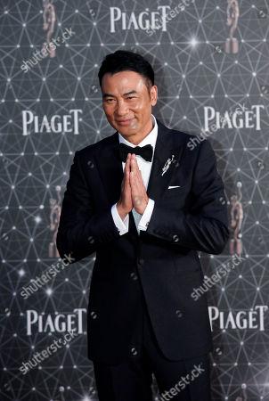 Simon Yam Hong Kong actor Simon Yam poses on the red carpet of the Hong Kong Film Awards in Hong Kong
