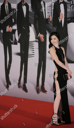 Janice Man Hong Kong actress Janice Man poses on the red carpet of the Hong Kong Film Awards in Hong Kong