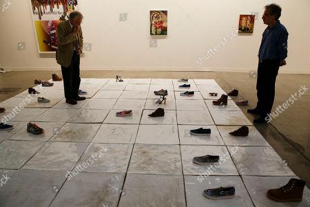 Editorial photo of Italy Art Exhibition, Milan, Italy