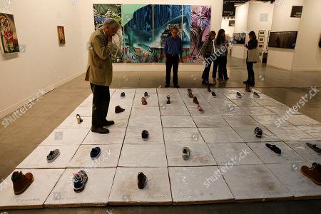 Editorial image of Italy Art Exhibition, Milan, Italy
