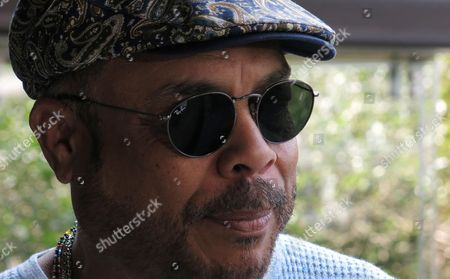 """Cuba's Francisco Cespedes gives an interview in Mexico City. Cespedes will present two concerts in Mexico as part of his """"Armando un Pancho"""" tour with Armando Manzanero in mid-June"""
