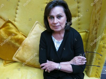 """Colombian author Laura Restrepo poses for a portrait in Mexico City. Restrepo says that the protagonist in her latest collection of short stories is evil, where it emerges with a different face in each chapter. Her new book is titled, """"Pecado"""" or """"Sin"""