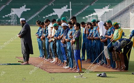Inzamam-ul-Haq Pakistan's chief cricket selector Inzamam-ul-Haq, left, leads prayers during a skill camp at Gadaffi stadium in Lahore, Pakistan, . Pakistan is scheduled to play four test matches, five one-day internationals and a Twenty20 against England with the first test at Lord's from July 14