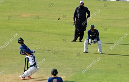 Inzamam-ul-Haq Pakistan's chief cricket selector Inzamam-ul-Haq, top, supervises a skill camp at Gadaffi stadium in Lahore, Pakistan, . Pakistan is scheduled to play four test matches, five one-day internationals and a Twenty20 against England with the first test at Lord's from July 14