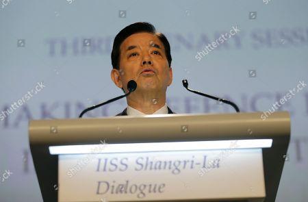 Editorial image of Singapore Asia Security Summit, Singapore, Singapore