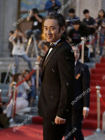 Wu Xiubo Chinese actor Wu Xiubo arrives for the Baeksang Arts Awards in Seoul, South Korea, . The Baeksang Arts Awards is a major film and arts awards ceremony in the country