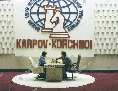 Chess players Anatoly Karpov and Victor Korchnoi are seen during their second game in the Philippines. Chess grandmaster Victor Korchnoi, a prominent Soviet defector who saw his citizenship restored by Mikhail Gorbachev in the waning days of the USSR, has died on . He was 85. The Russian chess federation says Korchnoi died in Switzerland, where he had lived for decades