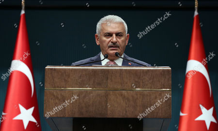 Binali Yildirim Binali Yildirim, who replaces the outgoing prime minister, Ahmet Davutoglu, announce his Cabinet after a meeting with President Recep Tayyip Erdogan in Ankara, Turkey, . Erdogan has approved a new government formed by his trusted ally who has pledged to push through constitutional reforms that would expand the powers of the presidency
