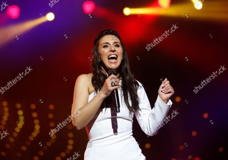 Susana Jamaladinova Ukraine's Eurovision winner singer Jamala performing during a concert, in Kiev, Ukraine