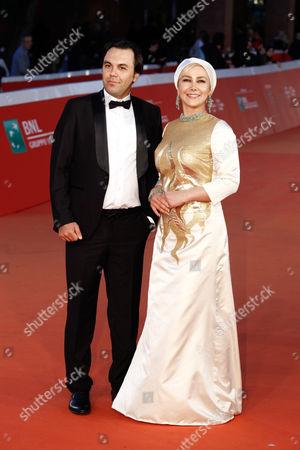 Stock Image of Ana Nemati and Mehdi Fard