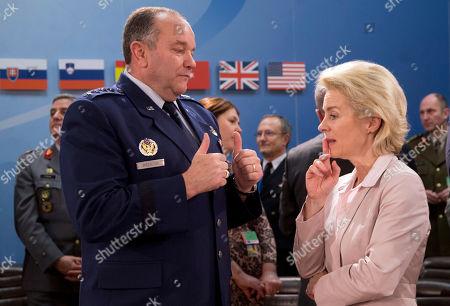 Editorial picture of Belgium NATO Defense, Brussels, Belgium