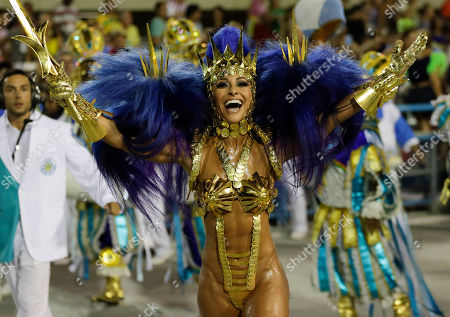 Sabrina Sato Drum queen Sabrina Sato, from the Vila Isabel samba school, performs during the Carnival parade at the Sambadrome in Rio de Janeiro, Brazil