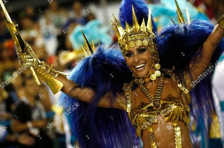 Sabrina Sato Drum queen Sabrina Sato, from the Vila Isabel samba school, performs during Carnival at the Sambadrome in Rio de Janeiro, Brazil