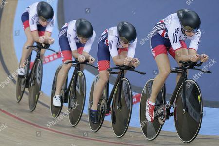 Editorial photo of Britain Track Cycling World Championships, London, United Kingdom