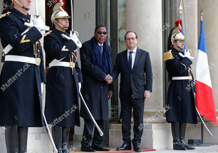Editorial picture of France Benin, Paris, France