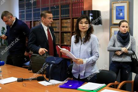 Editorial picture of France Kazakh Banker, Paris, France