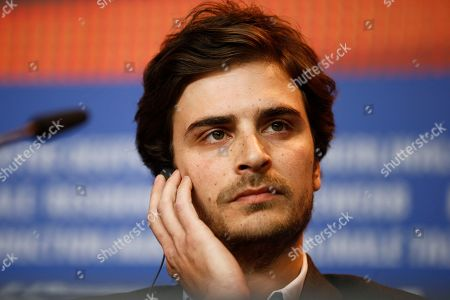 Actors Roman Kolinka attends a news conference for the competition film 'Things To Come' at the 2016 Berlinale Film Festival in Berlin