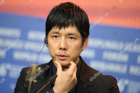 Actor Hidetoshi Nishijima speaks during a press conference for the film 'While the Women Are Sleeping' at the 2016 Berlinale Film Festival in Berlin, Germany