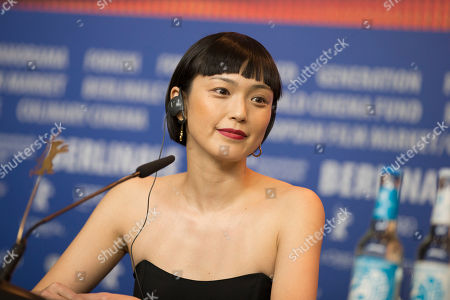 Stock Picture of Actress Sayuri Oyamada attends a press conference for the film 'While the Women Are Sleeping' at the 2016 Berlinale Film Festival in Berlin, Germany, Sunday, Feb.14, 2016