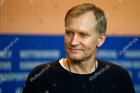 Actor Ulrich Thomsen attends the press conference for the movie 'The Commune' at the 2016 Berlinale Film Festival in Berlin, Germany