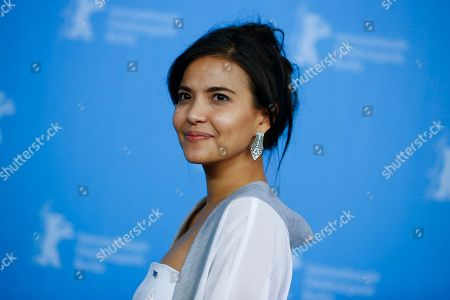 Stock Photo of Actress Alessandra De Rossi poses for photographers during a photo call for the competition film 'A Lullaby To The Sorrowful Mystery' at the 2016 Berlinale Film Festival in Berlin, Germany