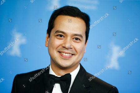 Actor John Lloyd Cruz poses for photographers during a photo call for the competition film 'A Lullaby To The Sorrowful Mystery' at the 2016 Berlinale Film Festival in Berlin, Germany