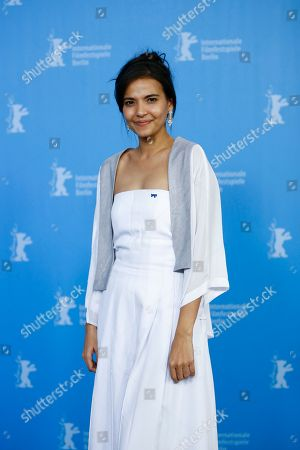 Actress Alessandra De Rossi poses for photographers during a photo call for the competition film 'A Lullaby To The Sorrowful Mystery' at the 2016 Berlinale Film Festival in Berlin, Germany