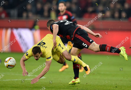 Editorial image of Germany Soccer Europa League, Leverkusen, Germany