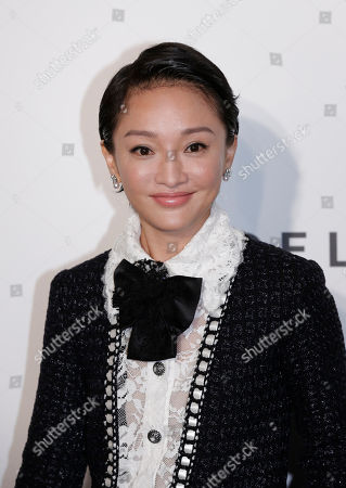 Zhou Xun Chinese actress Zhou Xun poses on the red carpet for the fundraising gala organized by amfAR (The Foundation for AIDS Research) in Hong Kong