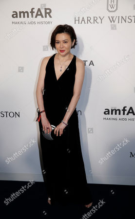 Rosamund Kwan Hong Kong actress Rosamund Kwan poses on the red carpet during the fundraising gala organized by amfAR (The Foundation for AIDS Research) in Hong Kong