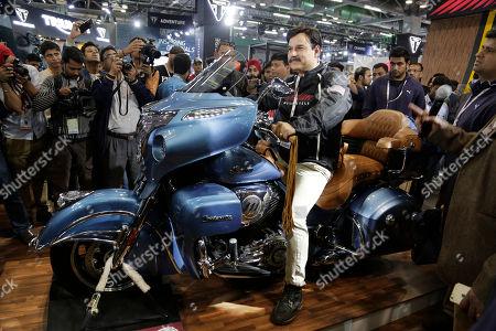 Editorial image of India Auto Expo, New Delhi, India