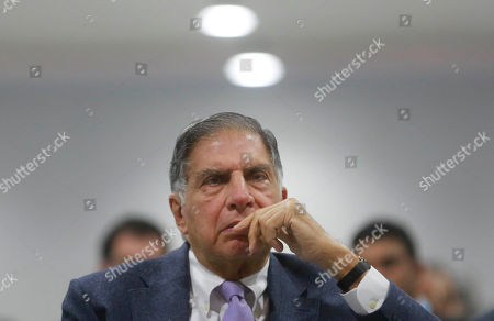 Ratan Tata Indian industrialist Ratan Tata attends at the weeklong 'Make in India' event in Mumbai, India, . A massive fire had broken out Sunday night at the event meant to showcase India as an attractive destination for billions of dollars of foreign investment