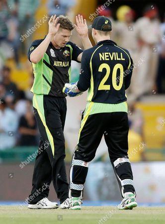 Editorial image of India World T20 Cricket Pakistan Australia, Mohali, India