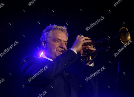 Chris Botti Musician Chris Botti performs during a concert at the Java Jazz Festival in Jakarta, Indonesia