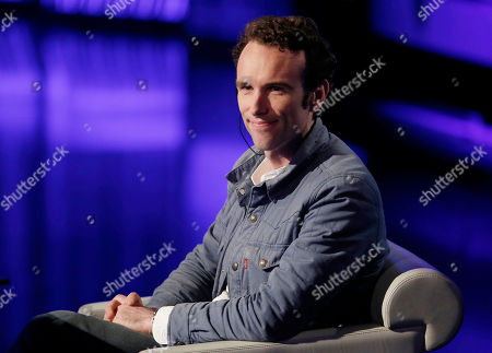 "Elliot Ackerman smiles during the Italian State RAI TV program ""Che Tempo che Fa"", in Milan, Italy"