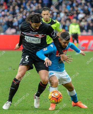 Editorial picture of Italy Soccer Serie A, Naples, Italy