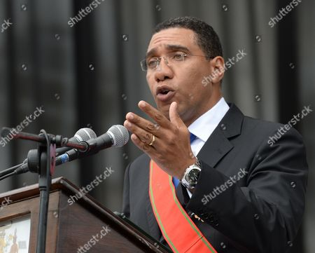 Andrew Holness Andrew Holness, Jamaica's new Prime Minister speaks after being sworn in by Governor General Sir Patrick Allen, in Kingston, Jamaica, . Holness was elected with a slim-margin victory over then Prime Minister Portia Simpson-Miller of the People's National Party