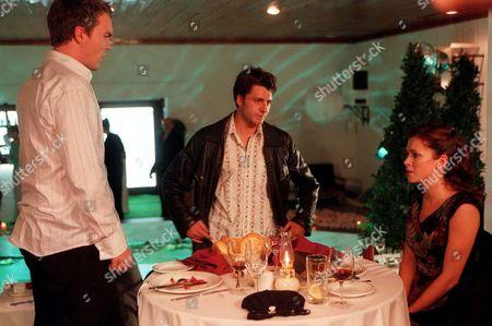 Anna Friel, Jamie Draven and Ciaran McMenamin in 'Watermelon' - 2003