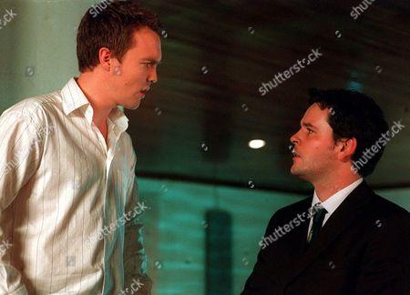 Ciaran McMenamin [L] in 'Watermelon' - 2003