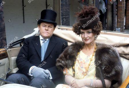 'Brass' Series 1 - Bradley Hardacre [Timothy West] with his wife Lady Patience Hardacre [Caroline Blakiston] - 1983