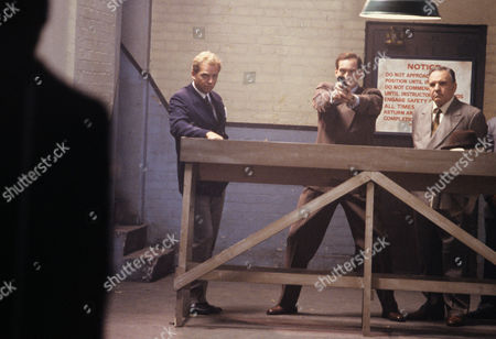 Patrick Ryecart, Charles Dance and Ed Devereaux in 'Goldeneye' - 1989