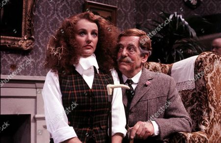 John Nettleton and Gail Harrison in 'Brass' - Series 2 - 1984