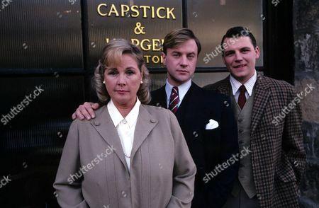 'Capstick's Law' -  1989 Madge Capstick [Wanda Ventham], Jonty Capstick [Christopher Villiers] and Anthony Capstick [Guy Scantlebury]