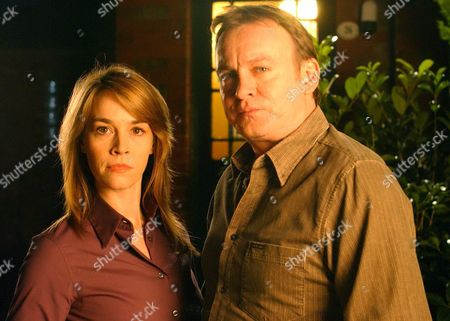 Eva Pope and Philip Glenister in 'Vincent' - 2005