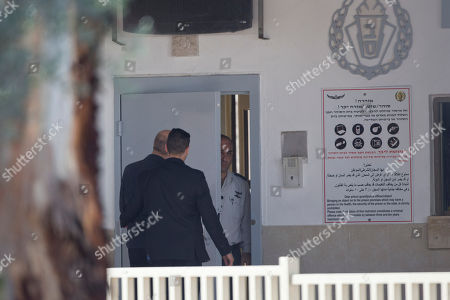 Ehud Olmert Former Israeli Prime Minister Ehud Olmert, left, enters prison to begin his sentence, in the central Israeli town of Ramle, Israel, . Israel's former Prime Minister Ehud Olmert started serving a 19-month prison sentence for bribery and obstruction of justice on Monday, becoming the first Israeli premier to be imprisoned and capping a years-long legal saga that forced him to resign in 2006 amid the last serious round of Israeli-Palestinian peace talks